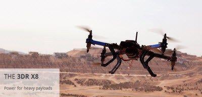 Robótica 3D é tornar os veículos aéreos não tripulados (UAV) para uso em aplicações comerciais.