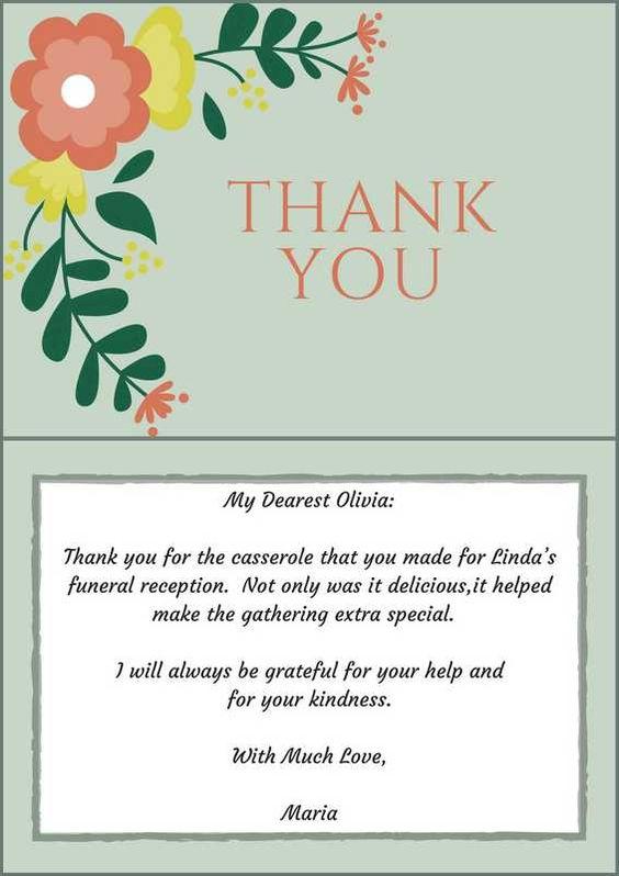 Sample thank you card shefftunes thank you messages sample messages sample thank you card expocarfo Choice Image