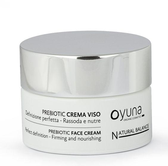 crema facial con prebióticos de oyuna