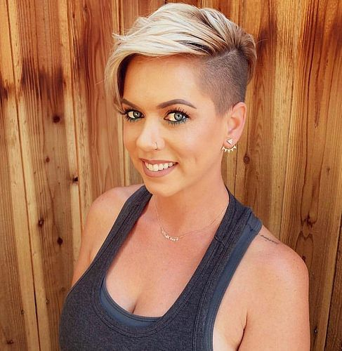 48+ Female side shave haircut inspirations