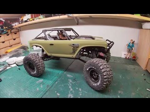 Rebuild Wraith And New Body Axial Wraith Deadbolt Scale Crawler Rc 1 10 Axial Crawlers Body