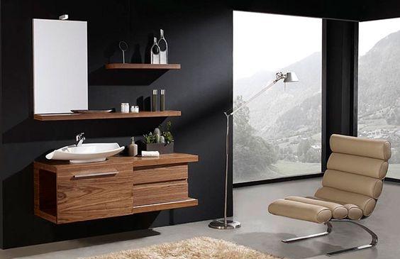Muebles de ba o modernos ideas para el hogar pinterest for Murales para banos modernos