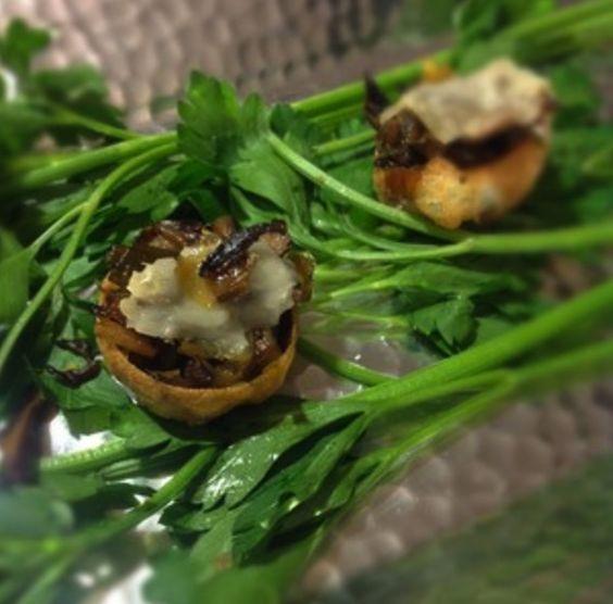 Leek & Shitake Tartlets | Mangia | Pinterest