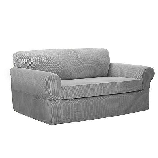 Maytex Mills 2 Pc Loveseat Slipcover Jcpenney Furniture Covers Slipcovers Loveseat Slipcovers Slipcovered Sofa
