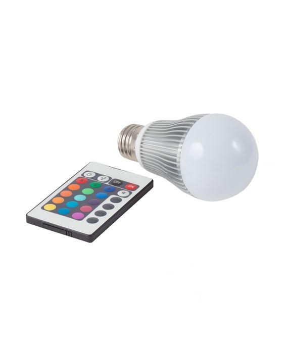 Lâmpada que muda de cor » Decoração - CoisasGeniais: I Want, Color