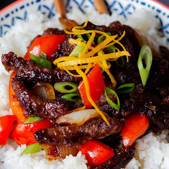 Crispy Orange Beef - easy and soooo delicious!