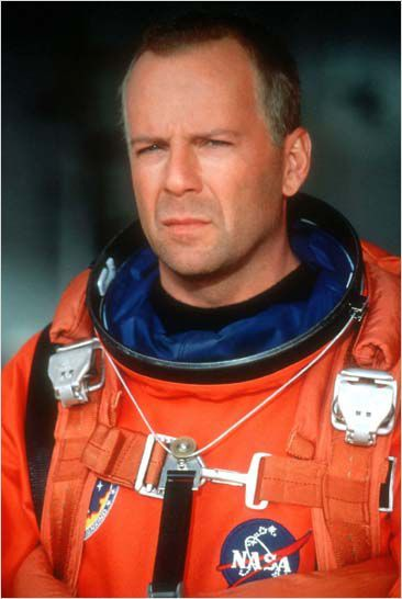 Bruce Willis dans Armageddon (photo)