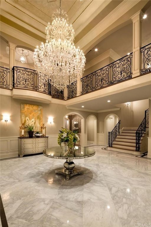 Find The Best And Most Luxurious Chandelier Inspiration For Your Next Interior Design Project Here Discover Ou Mansion Interior Luxury Home Decor House Styles