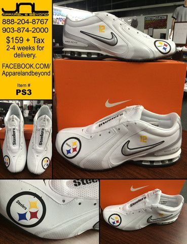 Custom Pittsburgh Steelers Nike Reax �C JNL Apparel | just saying ...