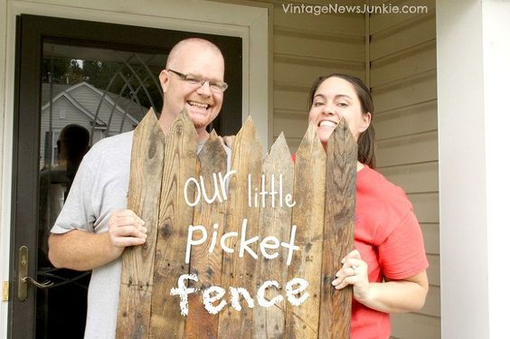 DIY Wood Pallet Mini Picket Fence :: Hometalk