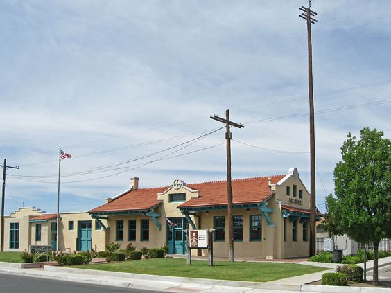 Alameda-Depot Historic District in Dona Ana County, New Mexico.