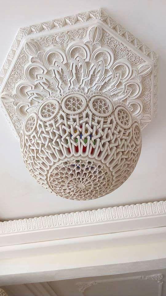 تحفة فنية Ceiling Design Historical Design Tower Design