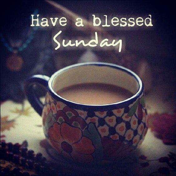 Coffee Blessed Sunday Image With Images Blessed Sunday Sunday