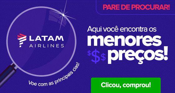 Encontramos, voos a partir R$ 74! :: Jacytan Melo Passagens