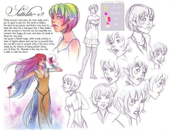 Character Sheet: Sattelite again by *Ardanae on deviantART