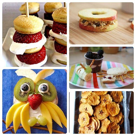 5 recetas con frutas f ciles y divertidas manualidades - Decoracion de frutas ...