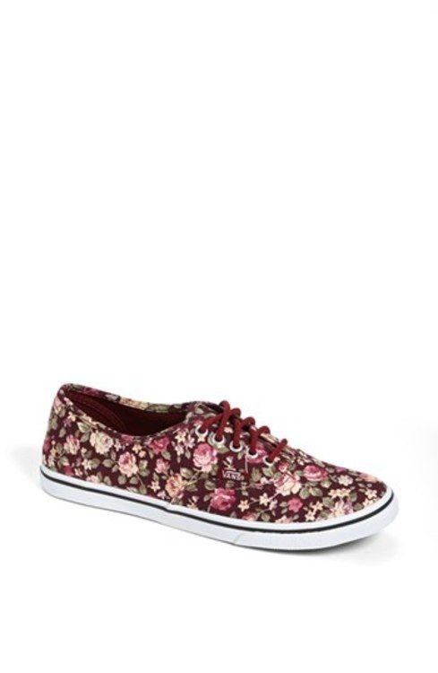 Vans 'Authentic Lo Pro - Floral' Sneaker (Women) gifters.com vans ...