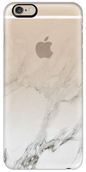 Casetify iPhone 6s Classic Snap Case - MARBLE GRADIENT | WHITE by LeeAnn Visser #Casetify