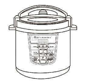 salton 5 in 1 pressure cooker manual