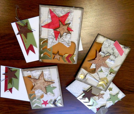 Weihnachtskarten, Stampin Up!