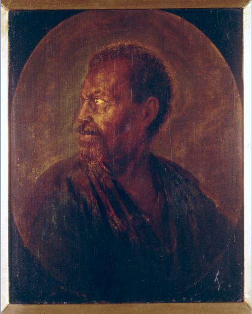 Gerrit Dou Portrait of a Man Netherlands (1635) Oil on Wood, 22.5 x 18 cm. KØBENHAVN, Statens Museum for Kunst. The Image of the Black ...