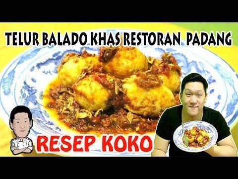 Resep Telur Balado Khas Restoran Padang Pedesnya Bikin Nagih Youtube Telur Restoran Resep