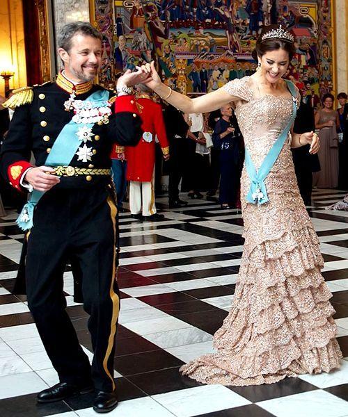 Crown Prince Frederik and Crown Princess Mary   Denmark royal family, Royal dresses, Princess mary