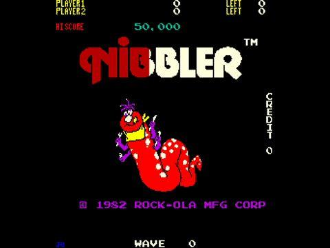 Nibbler, Arcade, Rock-Ola, 1982
