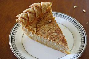 Cinnamon Swirl Buttermilk Pie