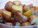 Potatoes with ranch dressing