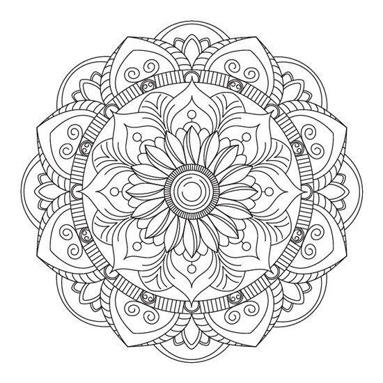 Loto Floral Mandala Floral Imprimir Sobres Mandala Para Imprimir