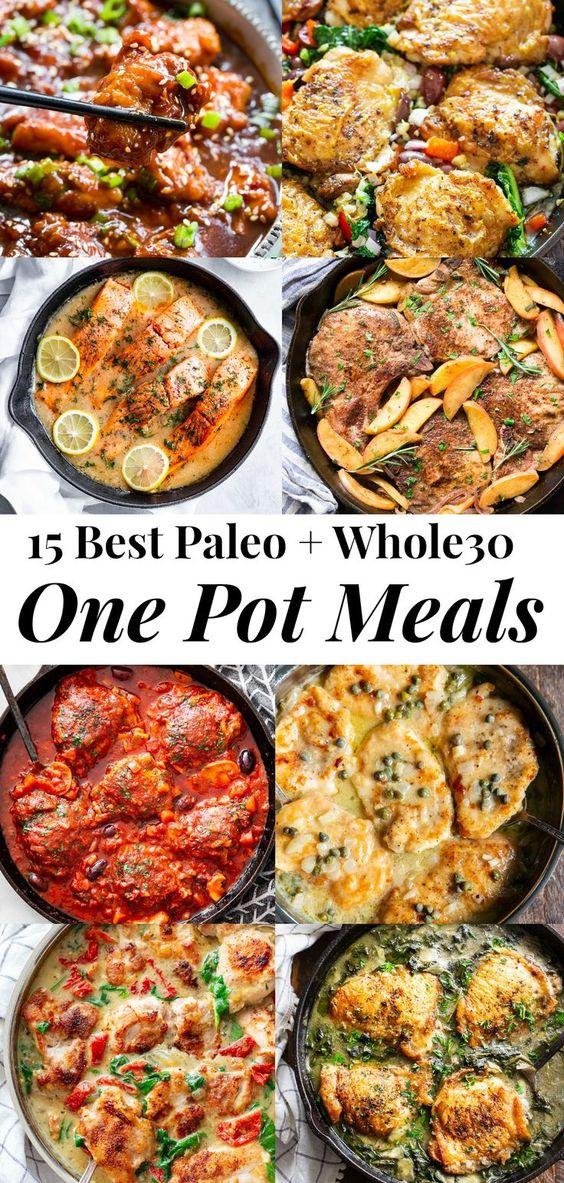15 One Pot Paleo Meals