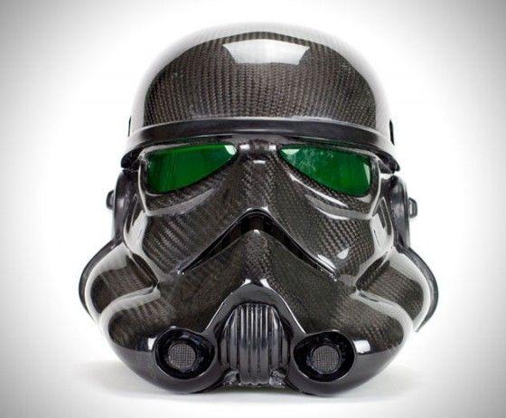 Casque Stormtroopers en carbone |