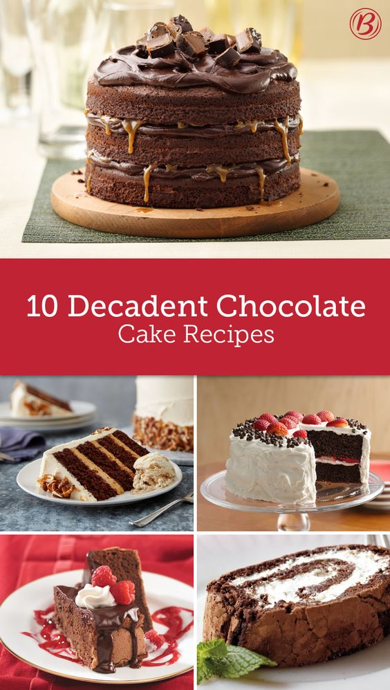 Chile-Spiked Chocolate Cakes Recipe — Dishmaps