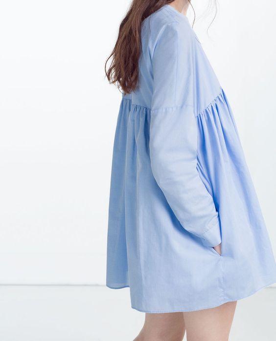 image 3 de robe combinaison en popeline de zara styles pinterest zara popeline et. Black Bedroom Furniture Sets. Home Design Ideas