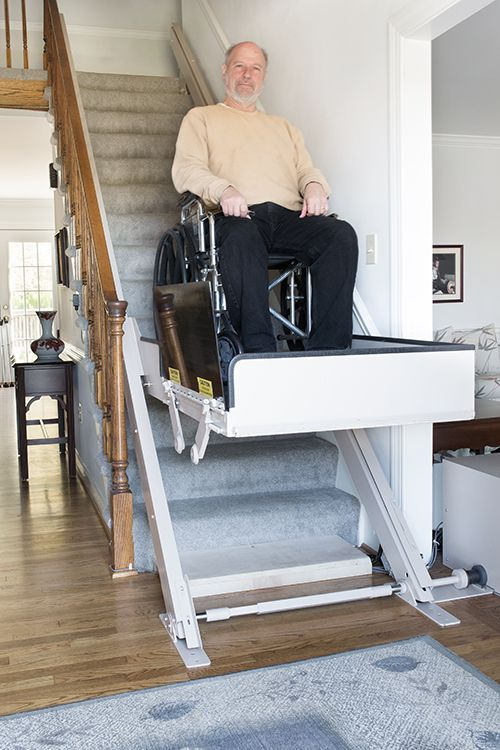 Inclined Platform Lifts Butler Mobility Wheelchair House Handicap Bathroom Accessible House
