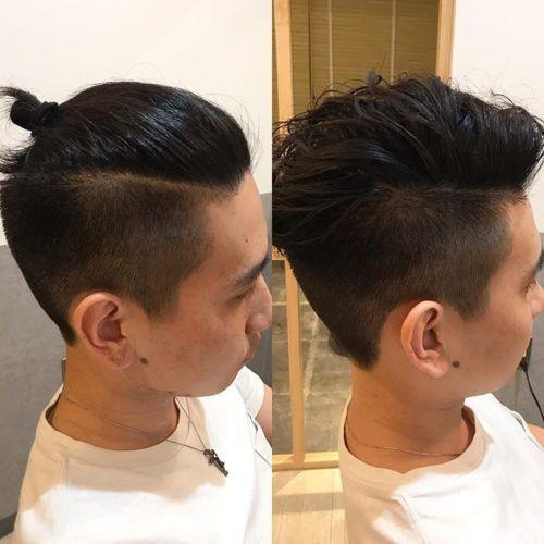 メンズ髪型 ロング ツーブロックのマンバンの結び方 日本人でもでき