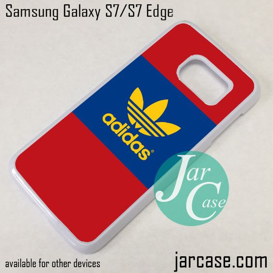 Adidas Sport Logo Phone Case for Samsung Galaxy S7 & S7 Edge