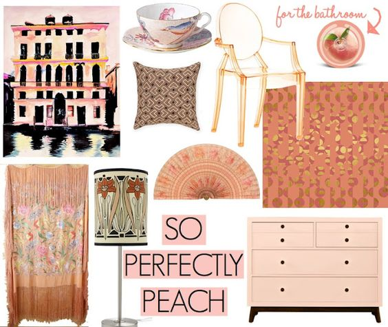 The Decorista-Domestic Bliss: PERFECTLY PEACH