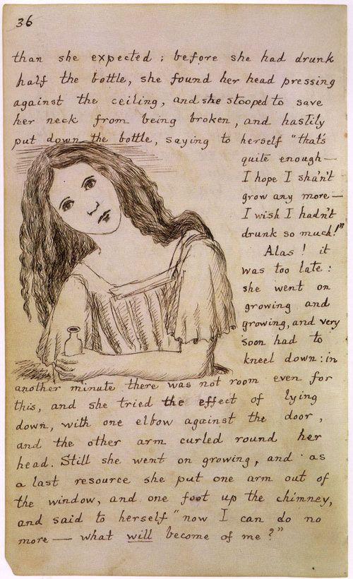 Lewis Carrol, ilustración: