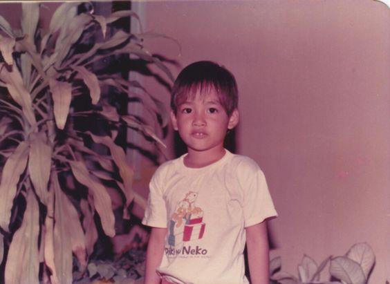 When I was kid.