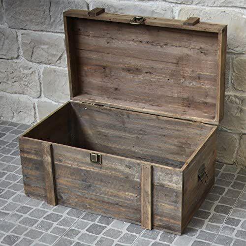 Brocante Landhaus Aufbewahrungsbox 80 Cm X 49 Cm X 48 Cm Wohnwelten Shop De Aufbewahrungsbox Grosse Truhe Aufbewahrung