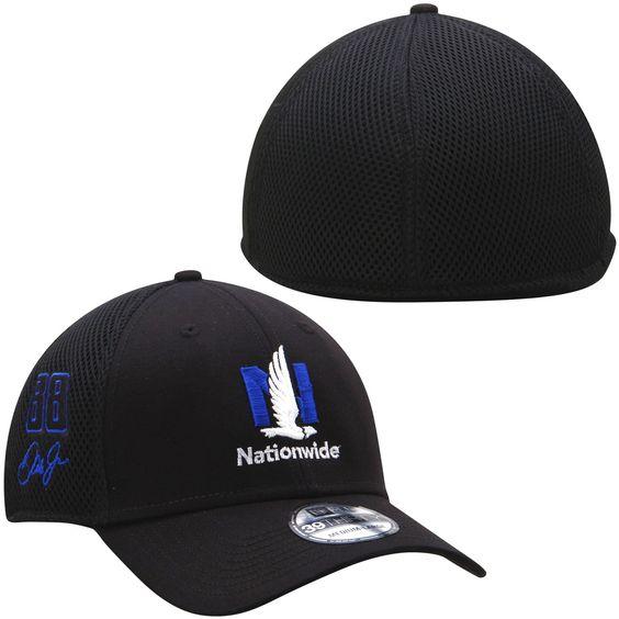 Dale Earnhardt Jr. New Era Nationwide Neo 39THIRTY Flex Hat - Black -  22.39 8e31a43b16f1
