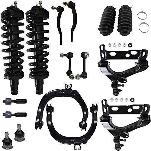 Detroit Axle Brand New 16pc Complete Front Suspension Kit