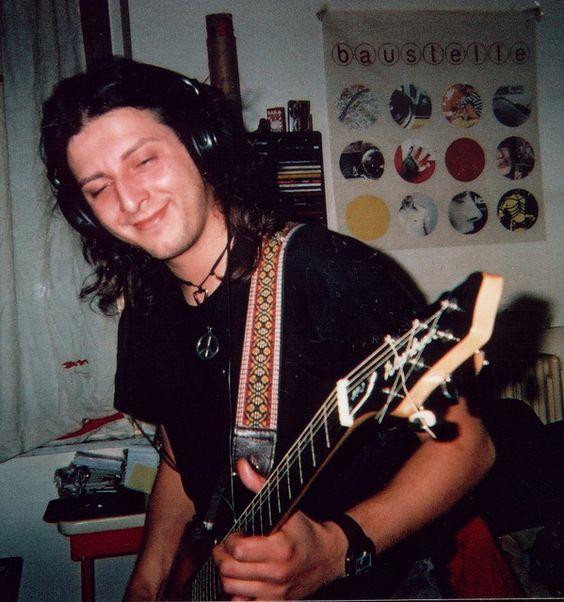 alternative songwriter Luke Crumb, recording at homestudio