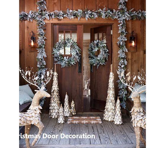 New Christmas Door Decoration Christmasdoordecor Outdoor Christmas Decorations Christmas Door Decorations Pretty Christmas Decorations