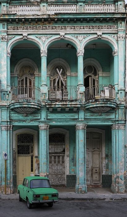 CUBA! would love to go here! i actually love listening to cuban music! makes me fell happy straight away