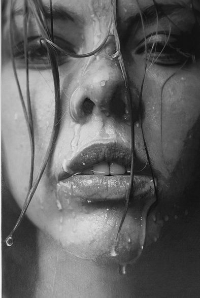 This is NOT a photo, but is a pencil portrait by Paul Cadden Artist.  Nothing to say but, unbelievable!: