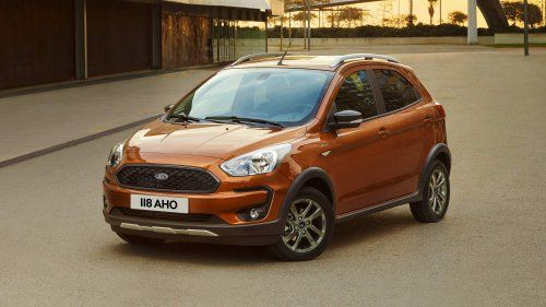 Crossover Flavored Ford Ka Active Highlights Facelifted 2018 Ka