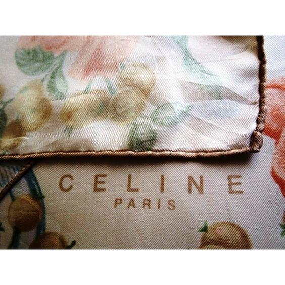 seta, scarf, sciarpa, Foulard Carré en Soie, seidentuch, celine